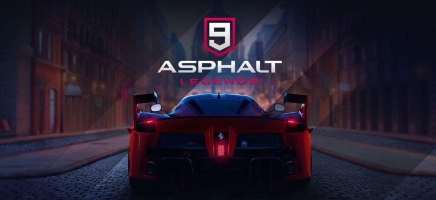 asphalt 9
