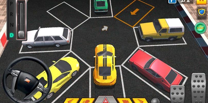 city car driving park