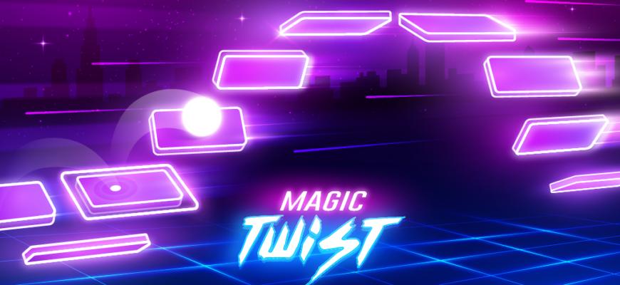 Magic Twist Twister Music Ball Game