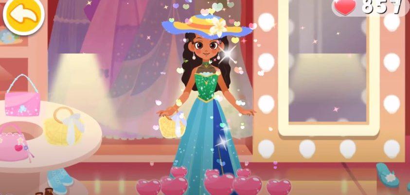 Mакияж для принцессы