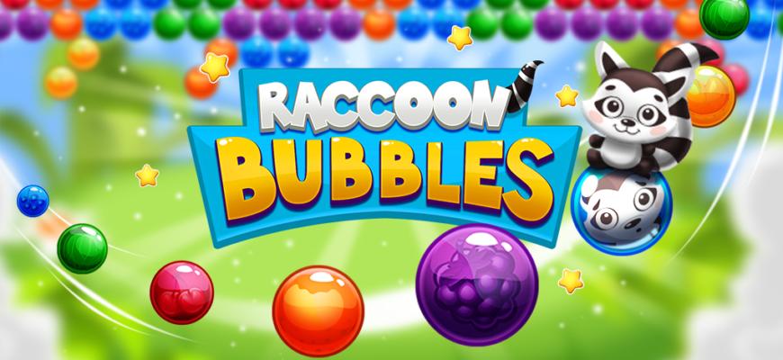 Raccoon Bubbles