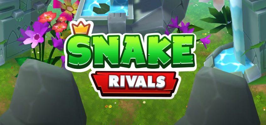 Snake Rivals - Новая Игра Змейка в 3D