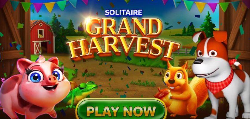 Solitaire Grand Harvest - Tripeaks - пасьянс
