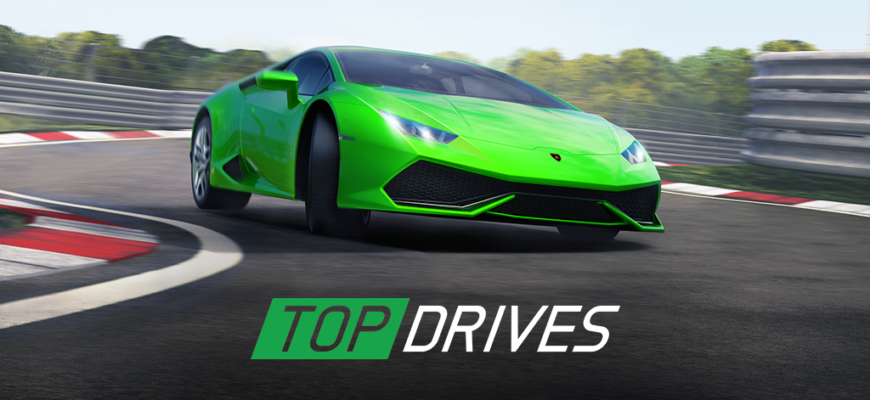 Top Drives - карточные гонки