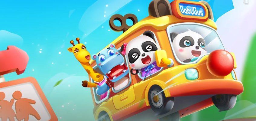 Волшебный Автобус Малыша Панды
