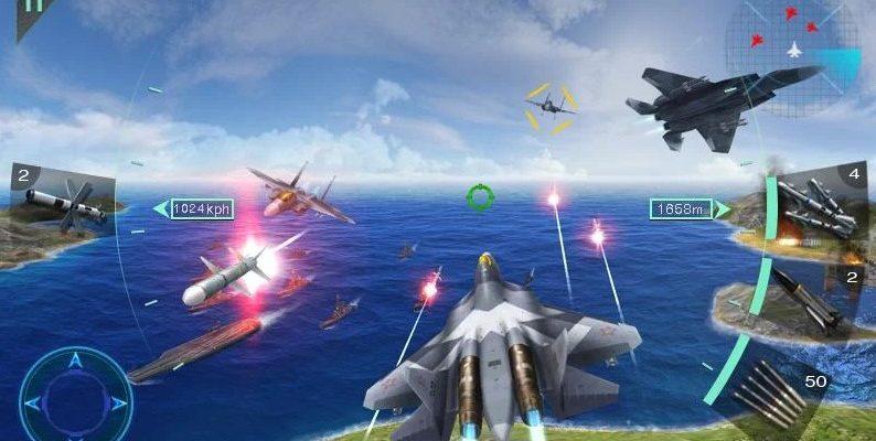Воздушные битвы 3D
