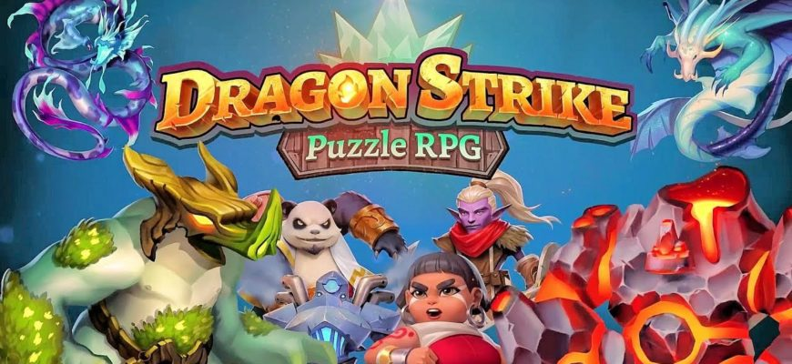 Dragon Strike Puzzle RPG