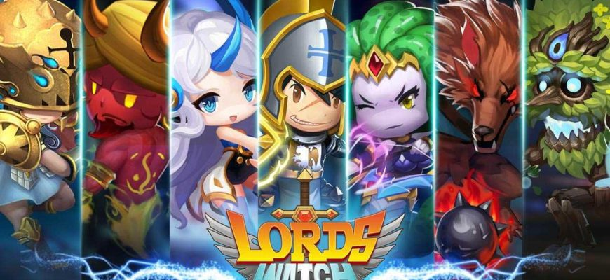 Lords Watch Tower Defense RPG