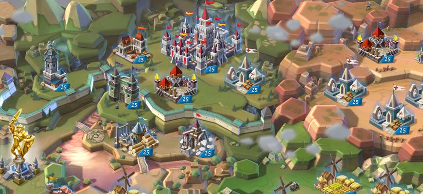 Lords Mobile Война Королевств