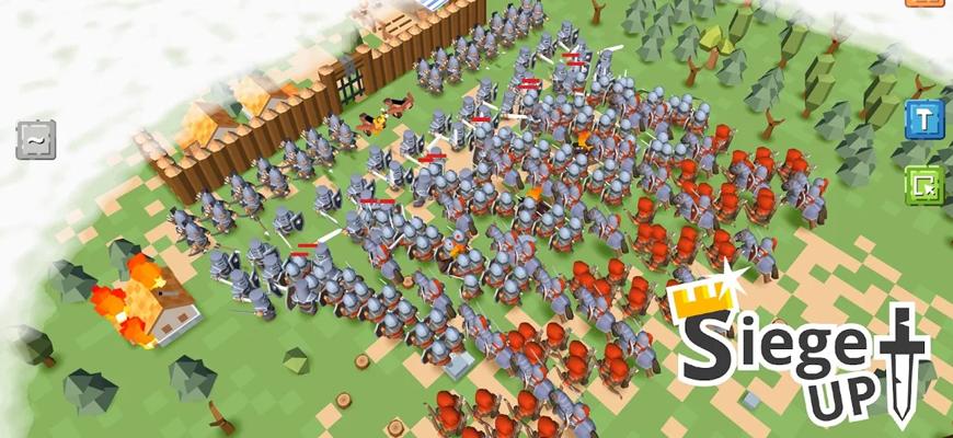 RTS Siege Up! – Бесплатная стратегия Оффлайн